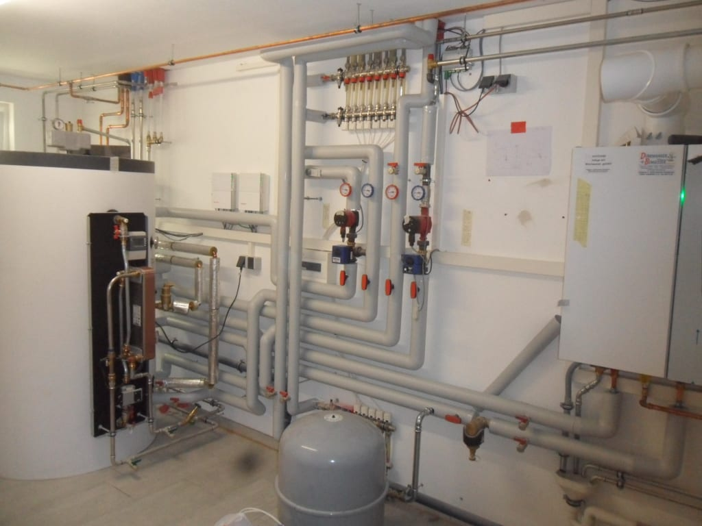 Gas-Brennwert-System